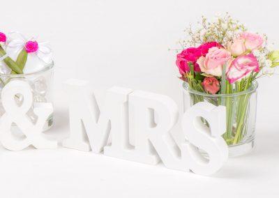 Tischschmuck Mrs