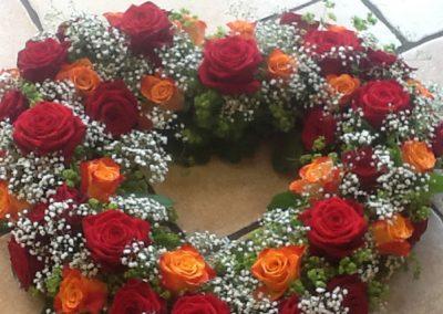 Trauerfloristik Herz